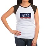 Nancy Pelosi for President Women's Cap Sleeve T-Sh