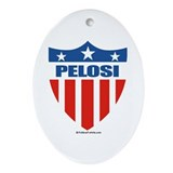 Nancy Pelosi Oval Ornament