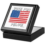 Vote for Pelosi Keepsake Box