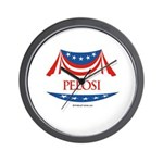 Pelosi Wall Clock
