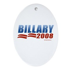 Billary 2008 Oval Ornament