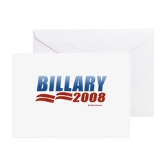 Billary 2008 Greeting Cards (Pk of 20)