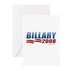 Billary 2008 Greeting Cards (Pk of 20)