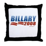 Billary 2008 Throw Pillow