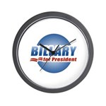 Billary for President Wall Clock