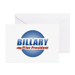 Billary for President Greeting Cards (Pk of 20)