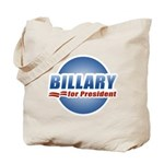 Billary for President Tote Bag