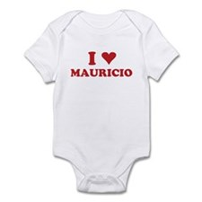 I LOVE MAURICIO Infant Bodysuit