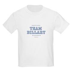 Billary for President Kids Light T-Shirt