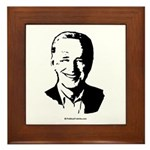 Joe Biden Face Framed Tile