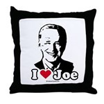 I Love Joe Throw Pillow