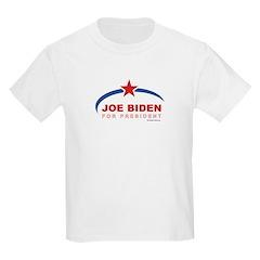 Joe Biden for President Kids Light T-Shirt