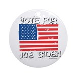 Vote for Joe Biden Ornament (Round)