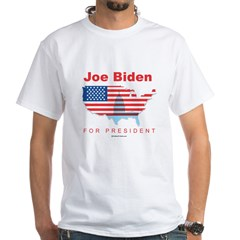 Joe Biden for President White T-Shirt