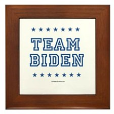 Team Biden Framed Tile