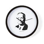John McCain Face Wall Clock
