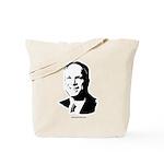 John McCain Face Tote Bag