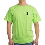 John McCain Face Green T-Shirt