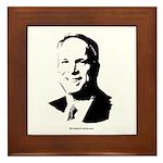 John McCain Face Framed Tile
