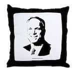 John McCain Face Throw Pillow
