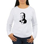 John McCain Face Women's Long Sleeve T-Shirt