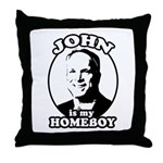JOHN IS MY HOMEBOY Throw Pillow