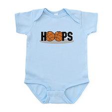 Basketball Hoops Infant Bodysuit