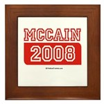 MCCAIN 2008 Framed Tile