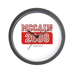 MCCAIN 2008 Wall Clock