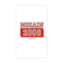 MCCAIN 2008 Rectangle Sticker