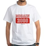 MCCAIN 2008 White T-Shirt