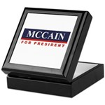 MCCAIN for President Keepsake Box