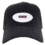 MCCAIN for President Black Cap