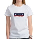 MCCAIN for President Women's T-Shirt