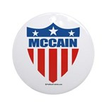 MCCAIN Ornament (Round)