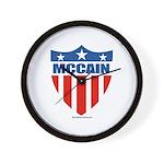 MCCAIN Wall Clock