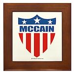 MCCAIN Framed Tile