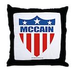 MCCAIN Throw Pillow