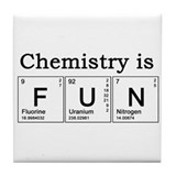 Chemistry Fun Tile Coaster