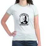 McCain is my homeboy Jr. Ringer T-Shirt