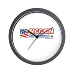 MCCAIN for President Wall Clock