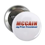 MCCAIN for President Button
