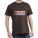 MCCAIN for President Dark T-Shirt