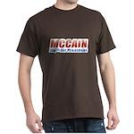 MCCAIN for President Dark T-Shirt