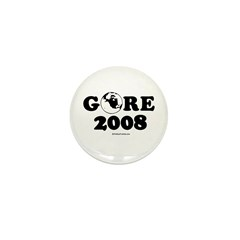 Gore 2008 Mini Button (100 pack)