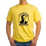Al Gore is my homeboy Yellow T-Shirt