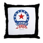 Gore 2008 Throw Pillow
