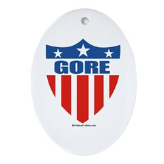 Gore Oval Ornament