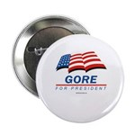 Gore for President Button