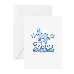 Gore for President Greeting Cards (Pk of 10)